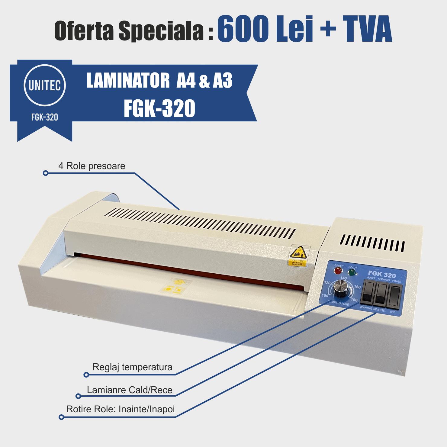 laminator unitec fgk 320