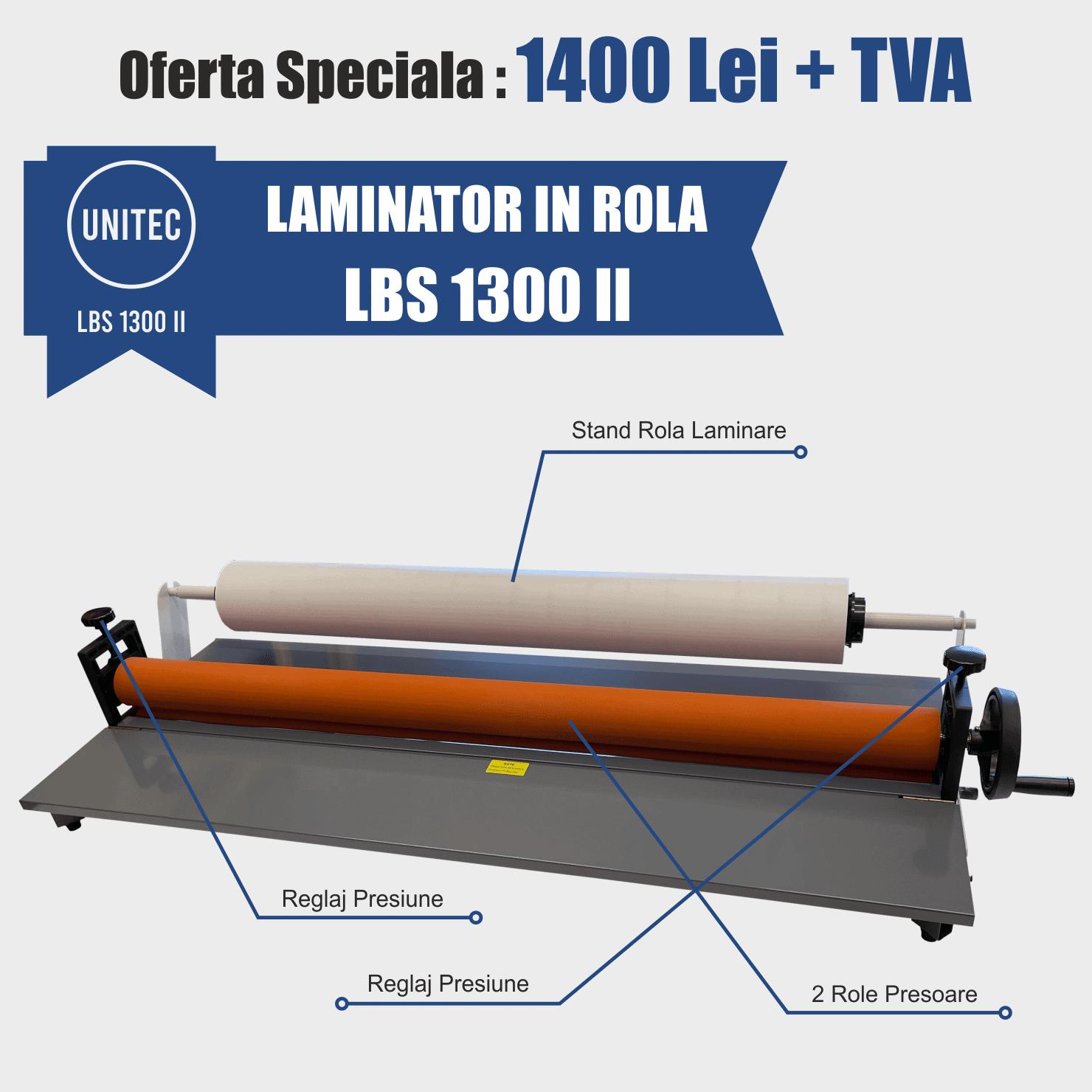 laminator in rola lbs 1300 II
