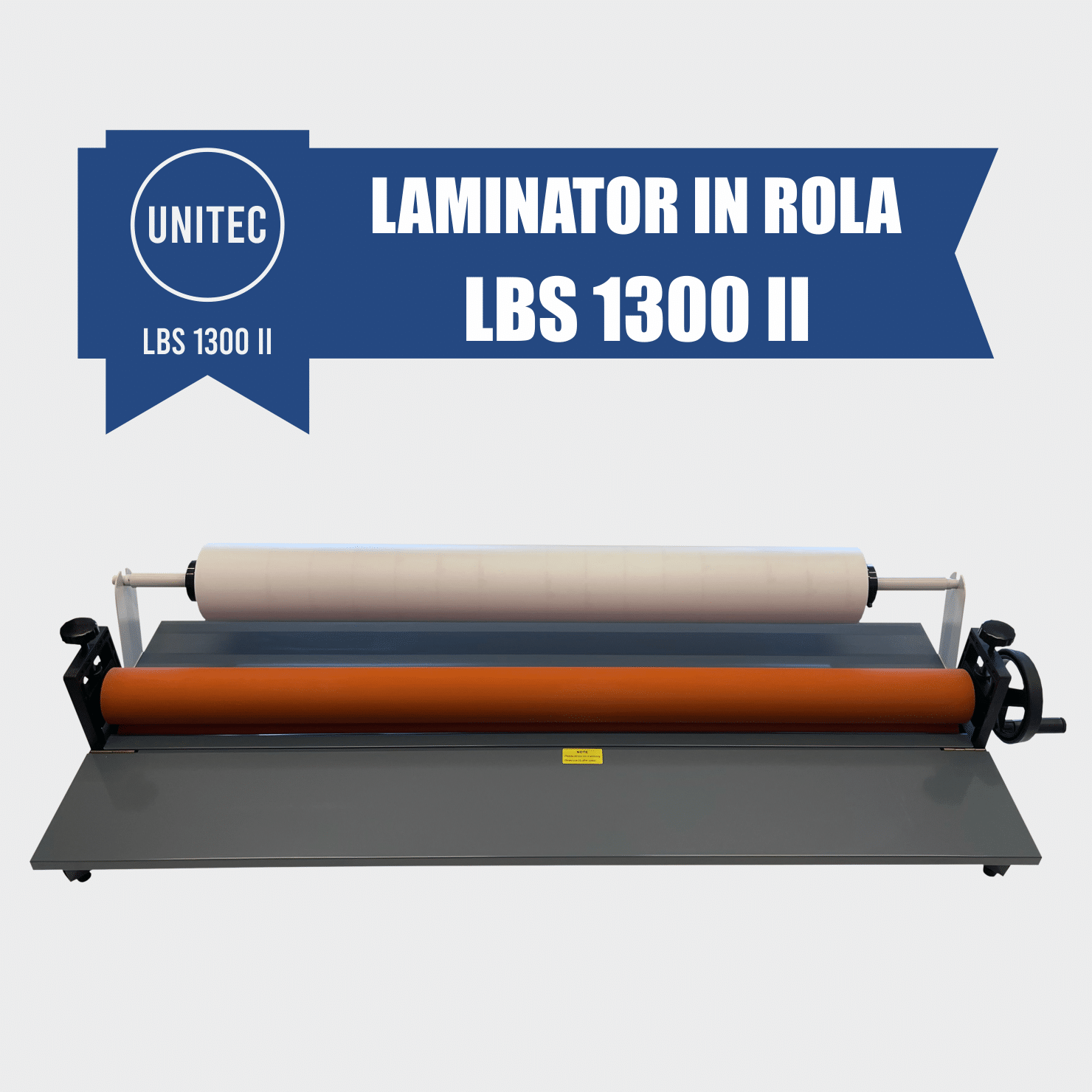 laminator in rola la rece manual