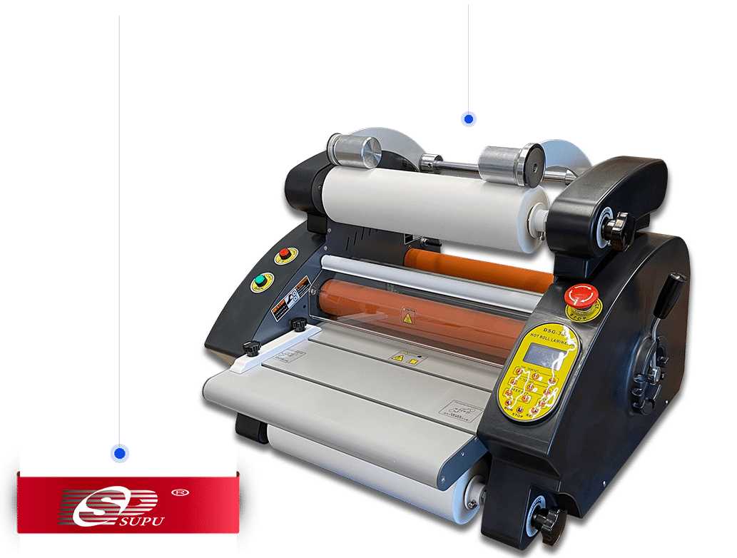 laminator in roll supu dsg-380