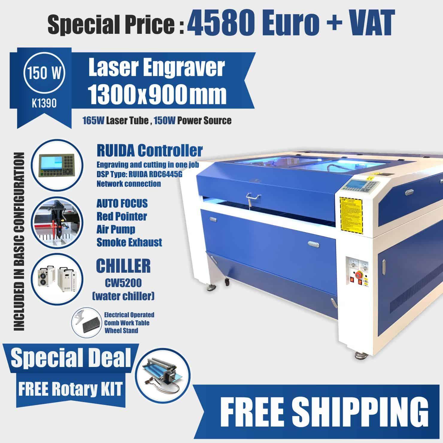 laser engraver 150w