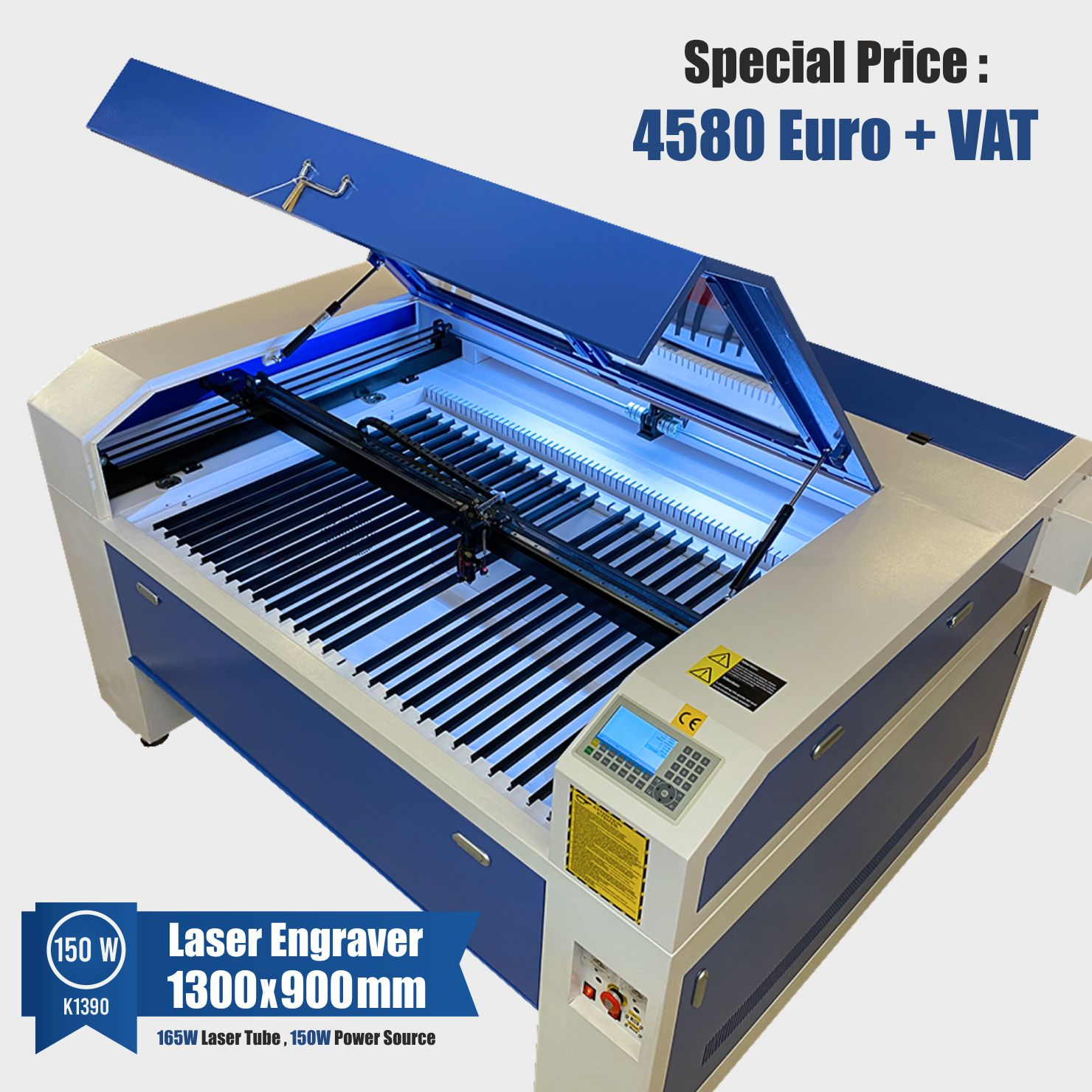 laser engraver 150w with ruida controller