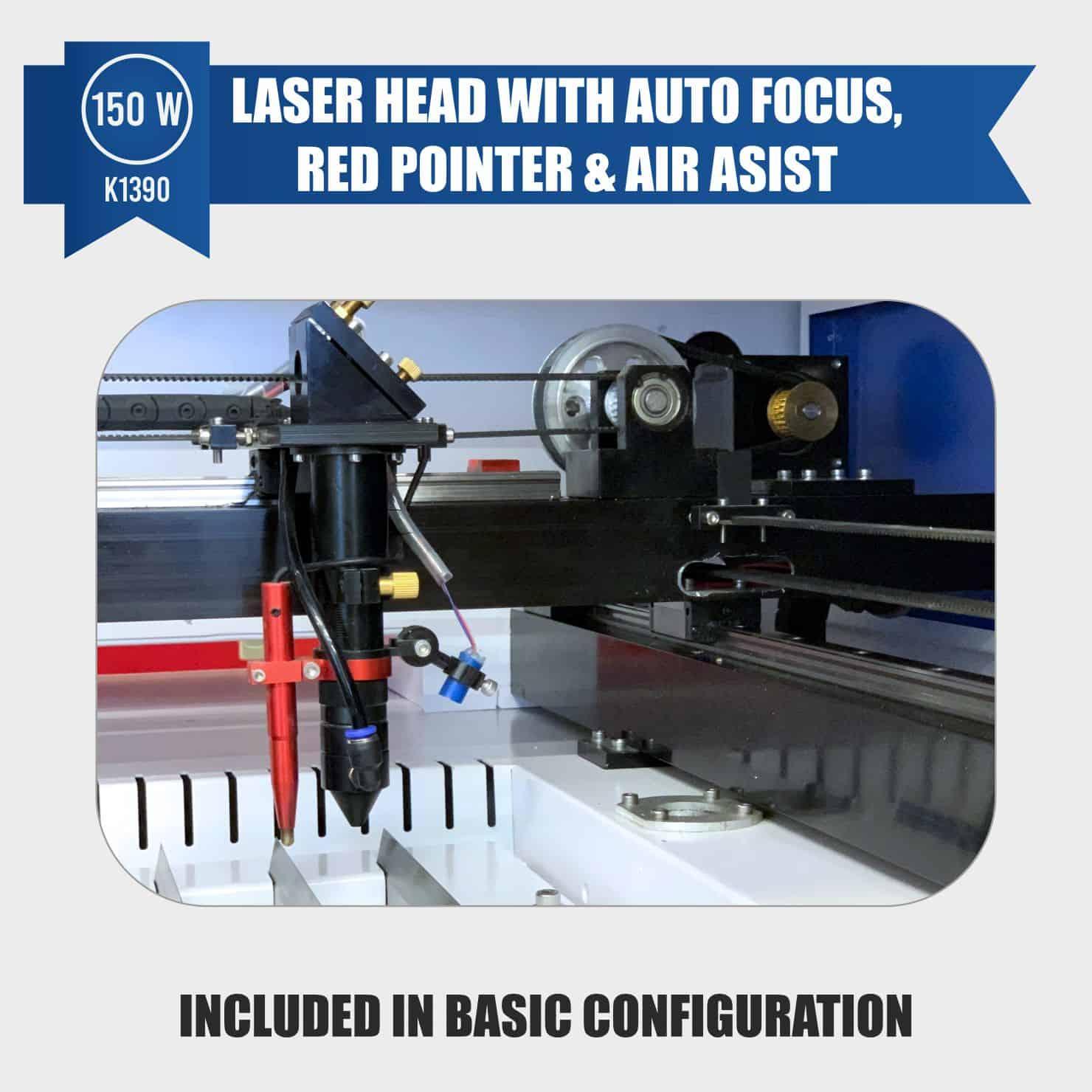 laser engraver 150w auto focus