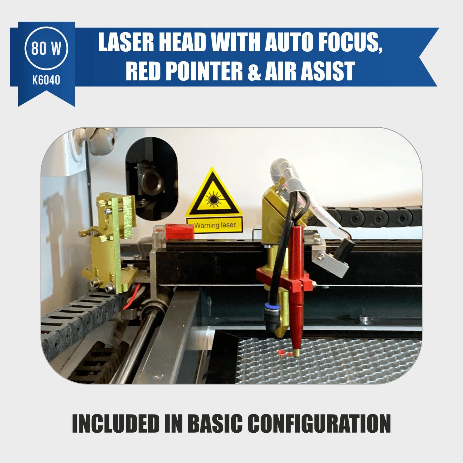laser engraver 80w with auto focus