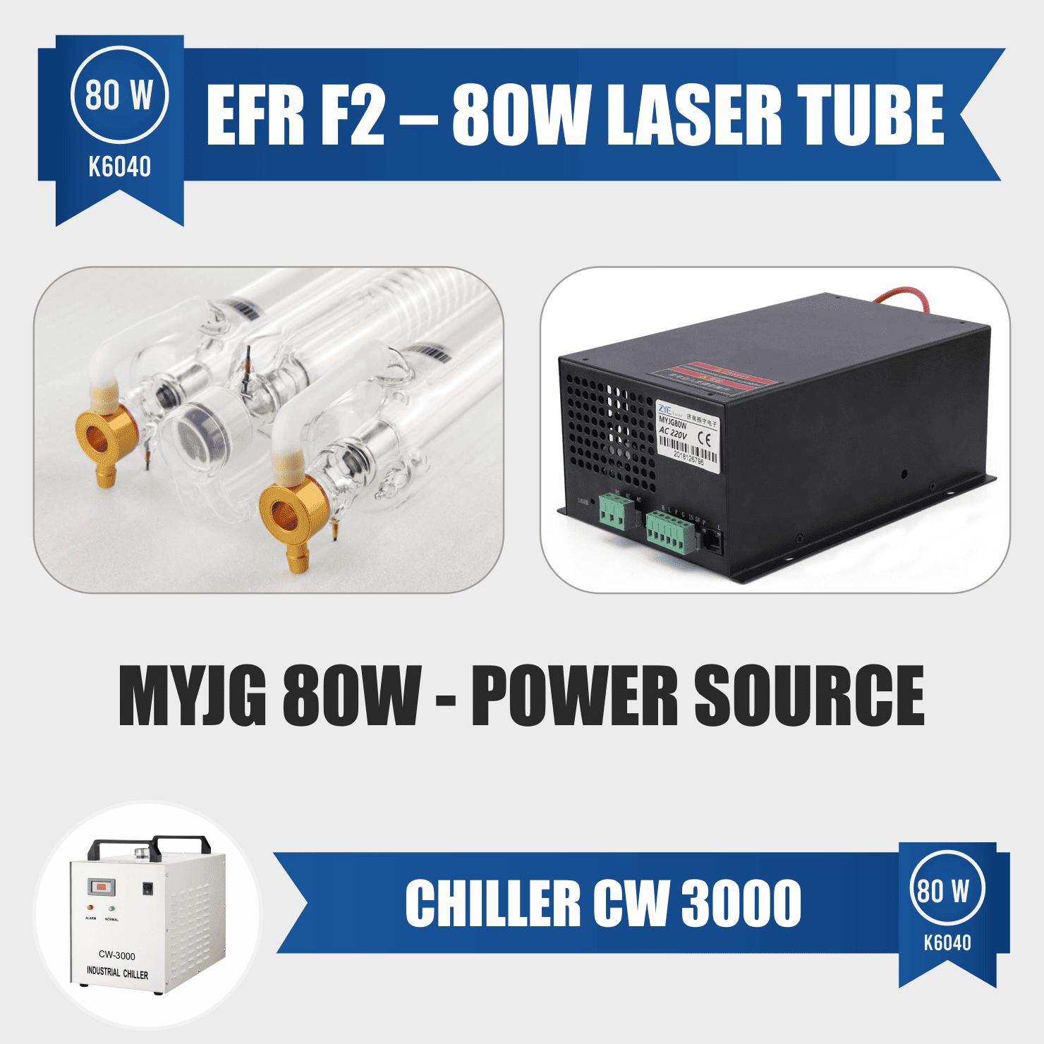 laser engraver with efr tub