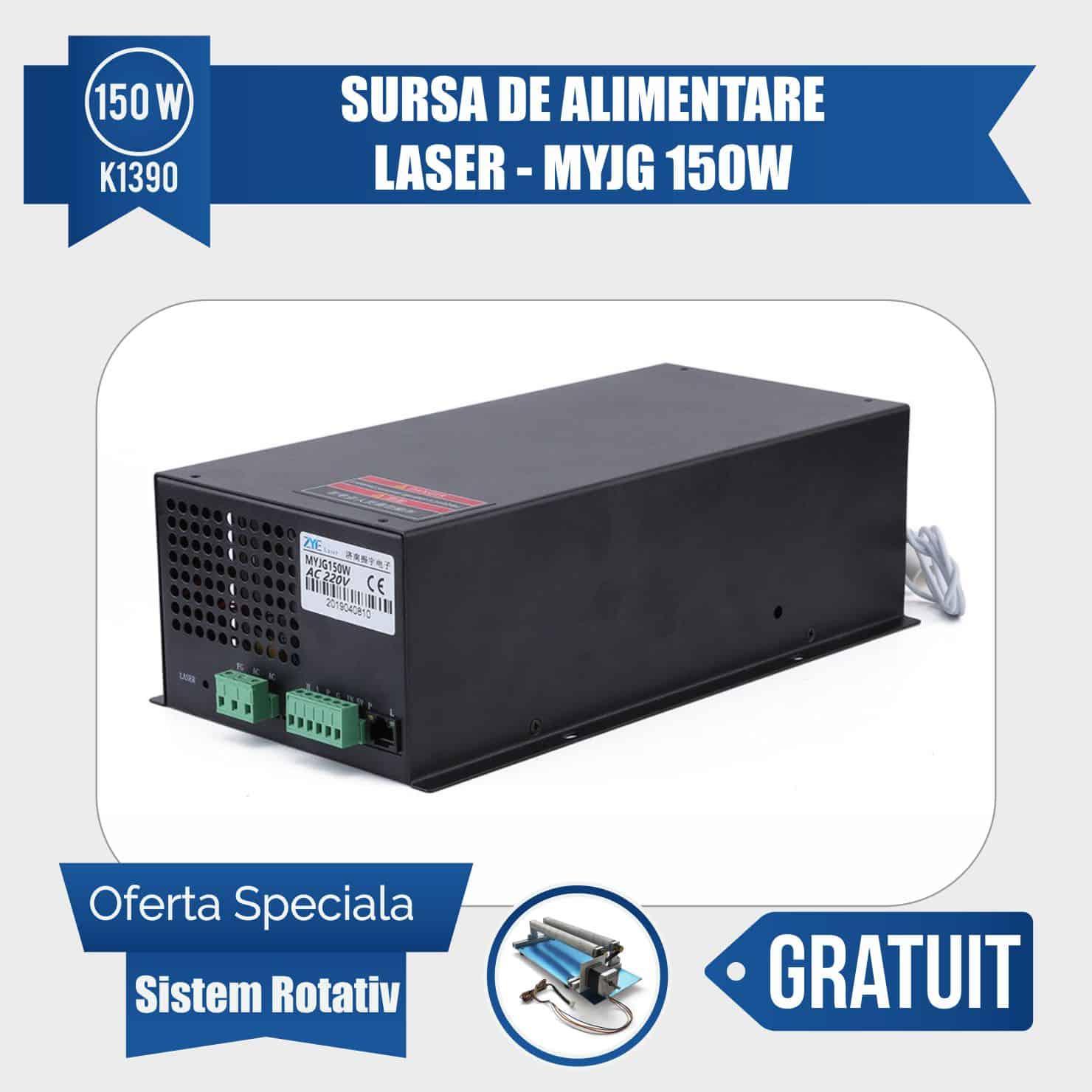 sursa laser 150w