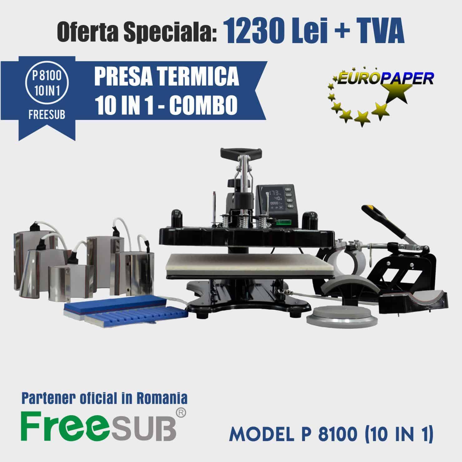 FREESUB P8100 COMBO 10 in 1