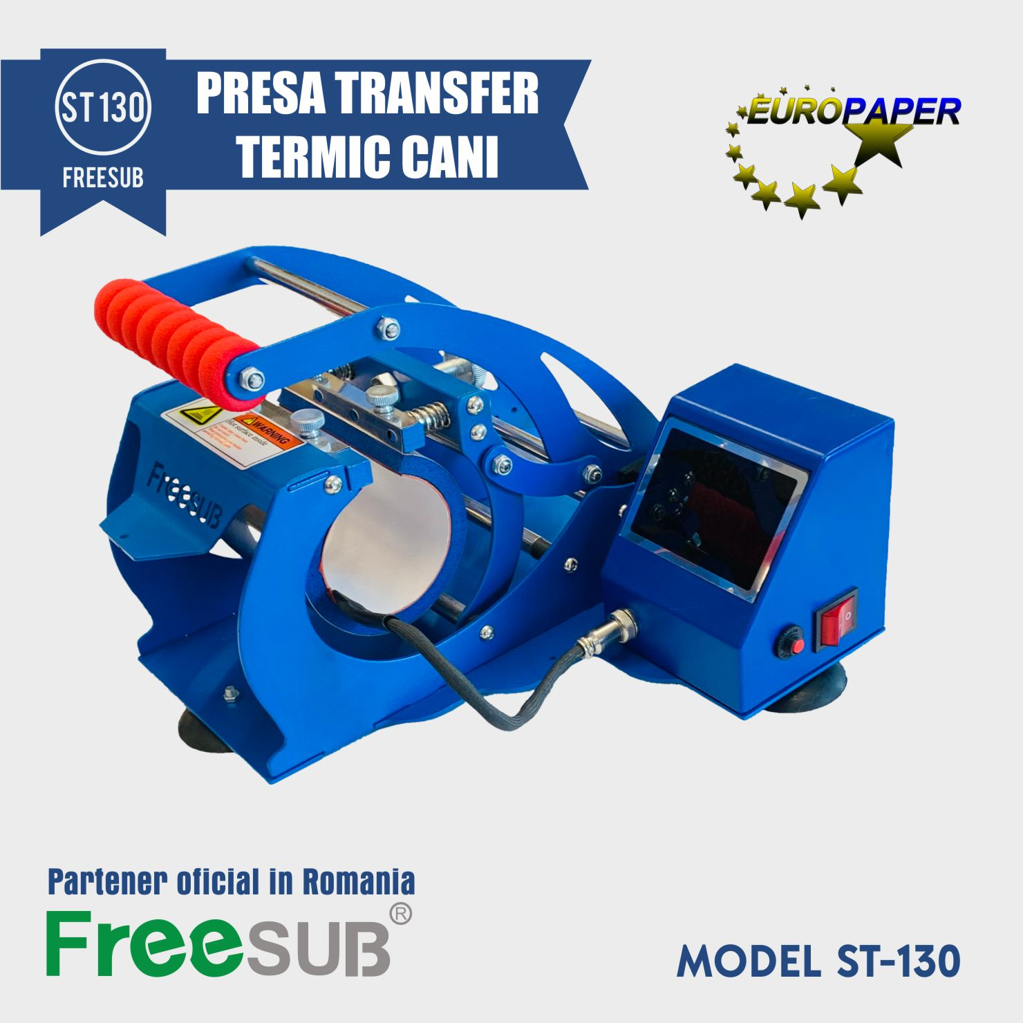 PRESA TRANSFER TERMIC CANI ST 130