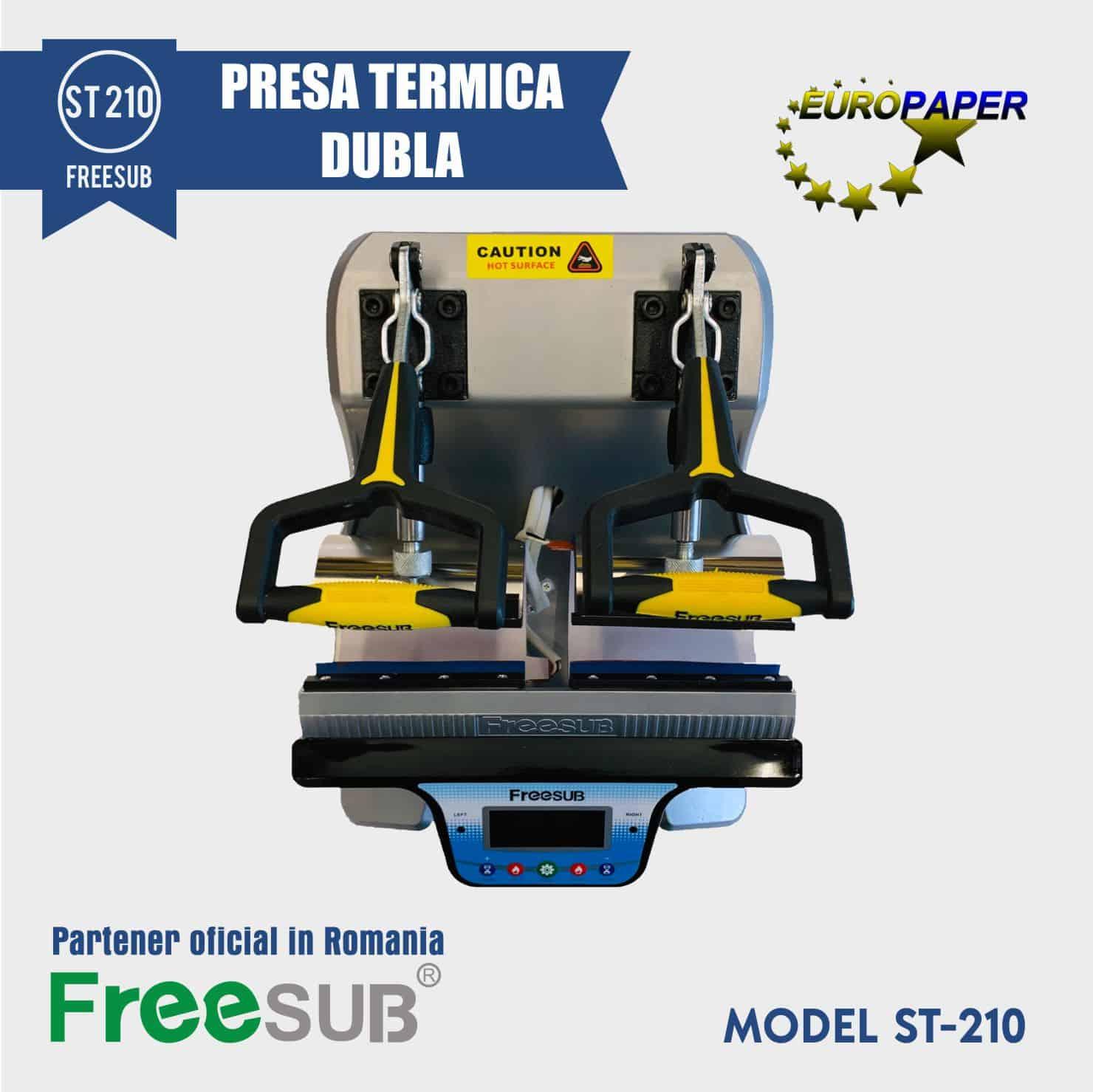 PRESA TERMICA DUBLA ST 210