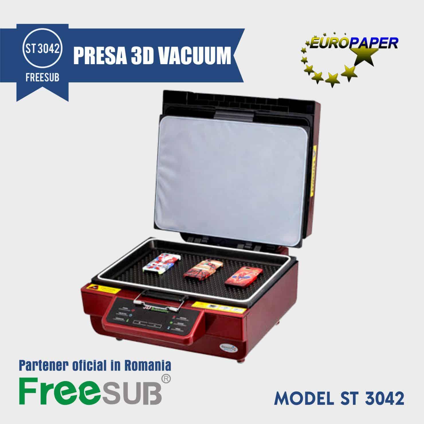 PRESA SUBLIMARE 3D VACUUM