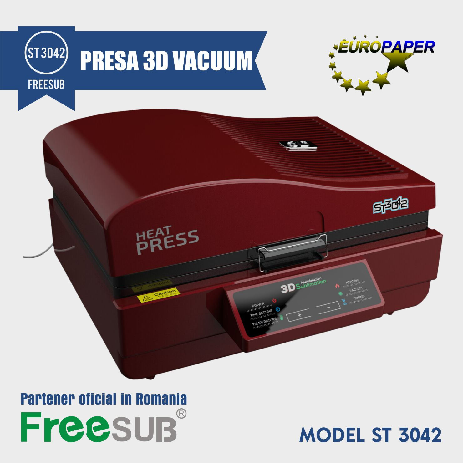 ST 3042 PRESA 3D